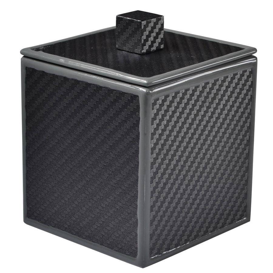 Gray container - carbon fiber bath accessory
