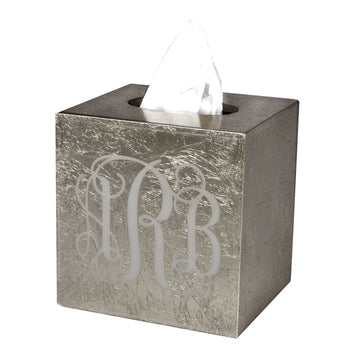 Silver tissue boutique - monogram