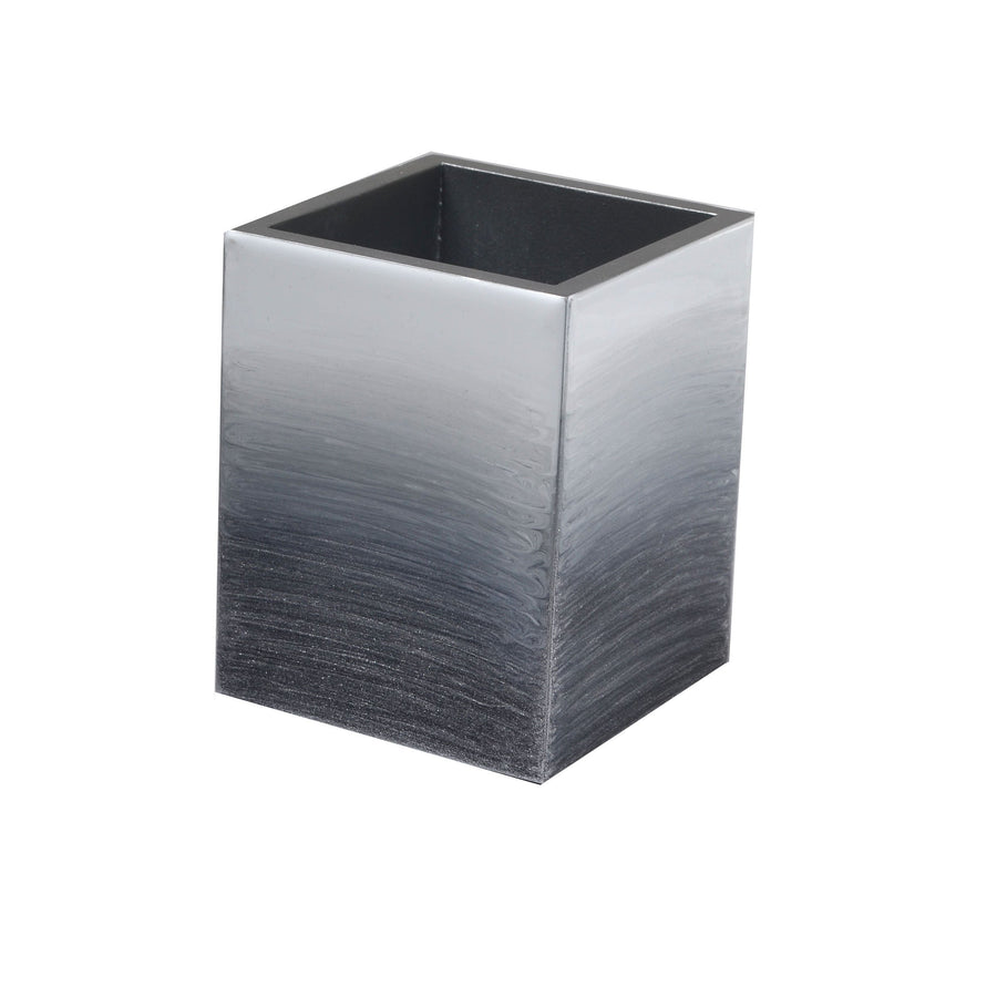 Designer Grey make up brush holder - ombre
