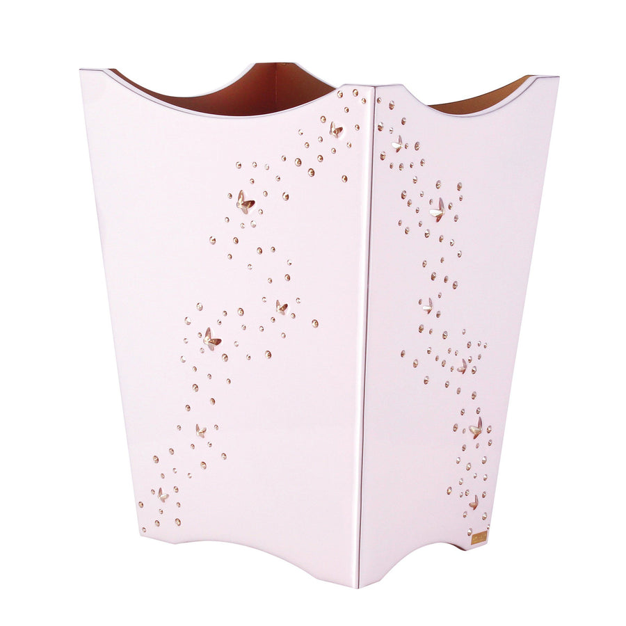Valencia Scalloped Wastebasket