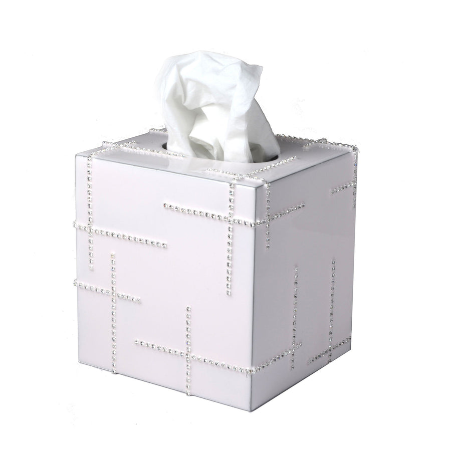 Rhinestone tissue boutique  decorative bathroom accessory - avanit