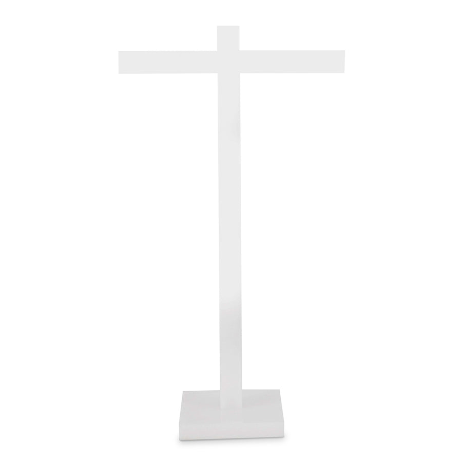 Ice White Hand Towel Stand