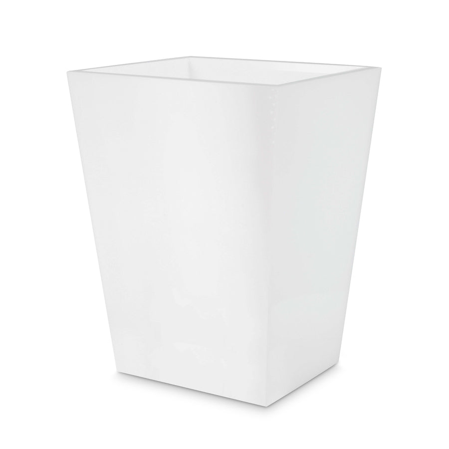 Ice White Wastebasket