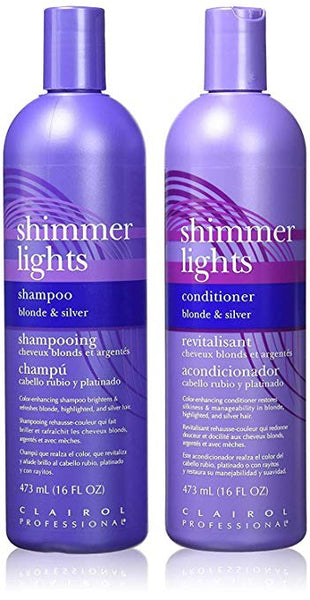 CLAIROL SHIMMER LIGHTS [BLONDE&SILVER]