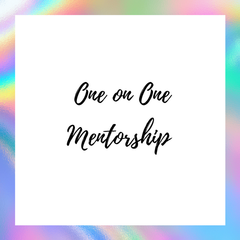 One on One Mentorship