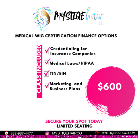 Medical Wig Certification Financing Options