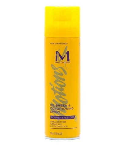 MOTIONS NOURISH&RESTORE OIL SHEEN CONDITIONING SPRAY