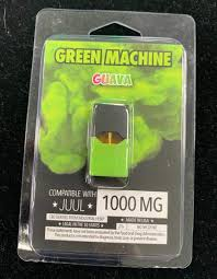 Green Machine Guava 1000mg Juul Pod