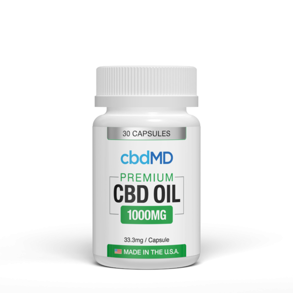 CBD Oil Capsules 30 count 1000mg