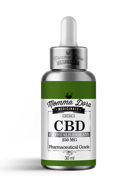 CBD Crystals Isolate For Pets Pharmaceutical-Grade CBD 250MG NO THC