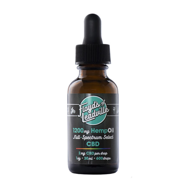 CBD Full Spectrum Tincture, 1200mg (2.66mg of CBD Per Drop)