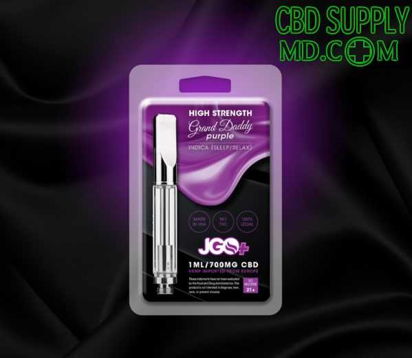 Grand Daddy Purple Sleep/Relax 700mg Vape Cartridge
