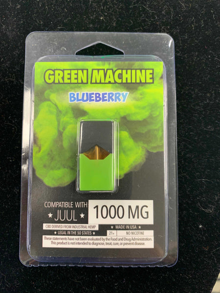 1000MG CBD Blueberry Juul Pod