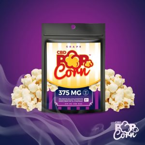 Grape Popcorn 375 MG