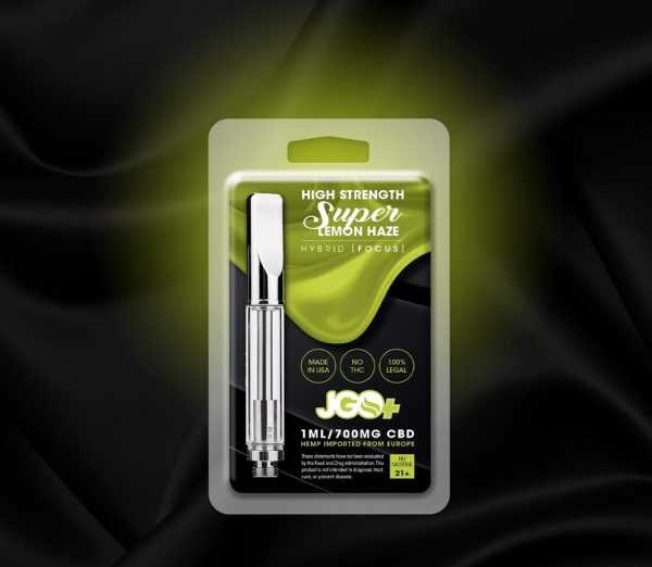 Super Lemon Haze 700mg CBD Vape Cartridge