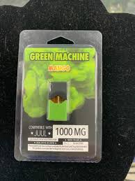 Green Machine Juul Pod - Mango 1,000mg