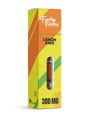 Lemon Cake 1ml Sativa Energizing (300mg)