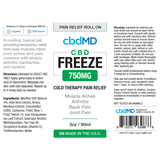 CBD Freeze Pain Relief 4oz Squeeze 750mg NO THC
