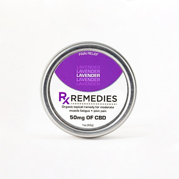 Rub CBD Lavender 50mg - 1 oz