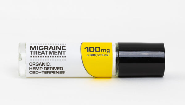 CBD Migraine Treatment 100MG a highly effective preventative or treatment for migraine symptoms!