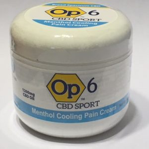 Op6 Cooling Cream - 1,200mg/4oz.