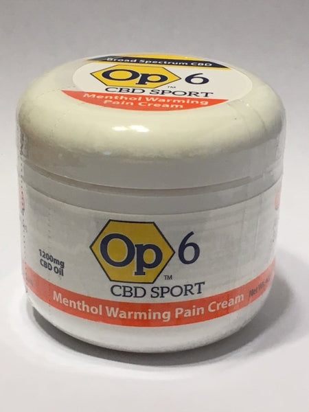 Op6 Warming Cream - 1,200mg/4oz