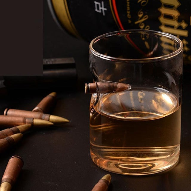 Hot !! Bullet Shot Lucky Glass