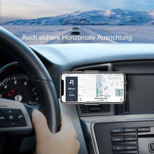 2-in-1 intelligente Handyhalterung mit Induktion