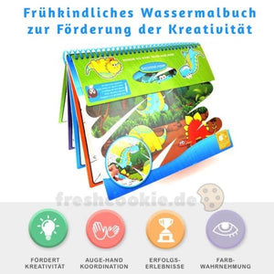 Wiederverwendbares Magic Malbuch