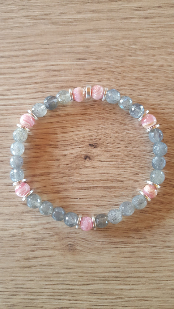 Bracelet Duo Emotion 6 mm