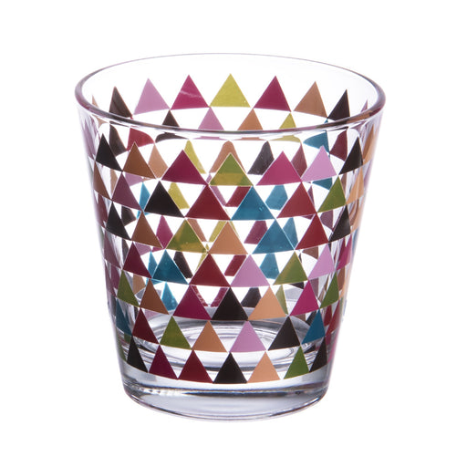 Verre à eau 25cl Manaos triangle (lot de 6)