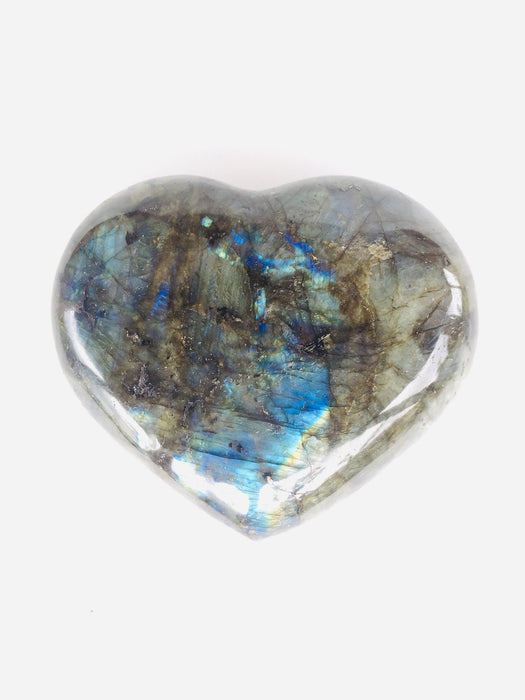Pierre naturelle Protection Labradorite Cœur