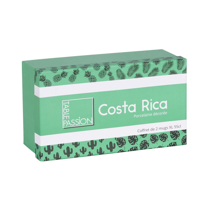 coffret cadeau - collection Costa Rica - design exotique - Table passion