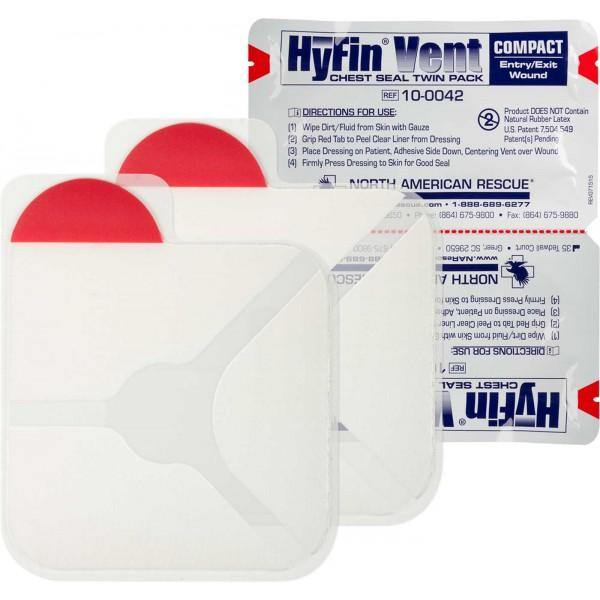 HyFin Vent Compact Chest Seal Twin Pack - Urban Medical Gear
