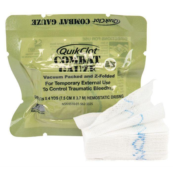 QuikClot Combat Gauze Z-Fold Hemosatic - Urban Medical Gear