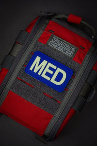 "MED Medical Patch - ""Super-Lumen"" Glow-in-the-dark patch - Urban Medical Gear"