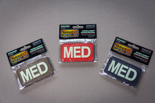 "Load image into Gallery viewer, MED Medical Patch - ""Super-Lumen"" Glow-in-the-dark patch - Urban Medical Gear"