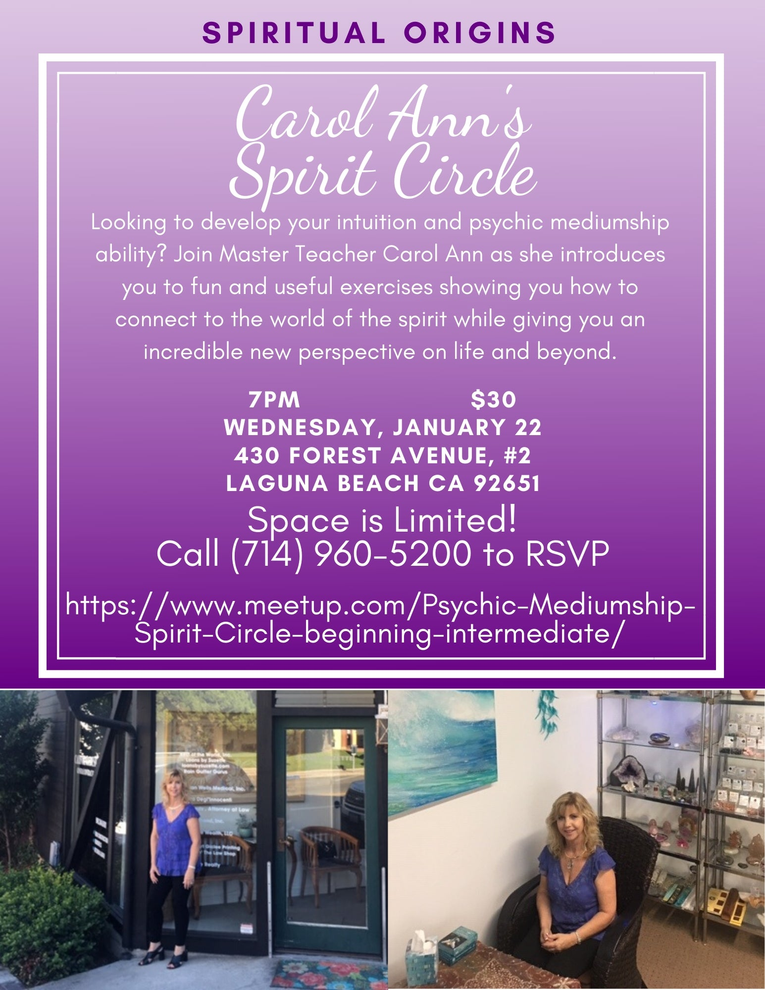 Spirit Circle: Learn how to be a Medium