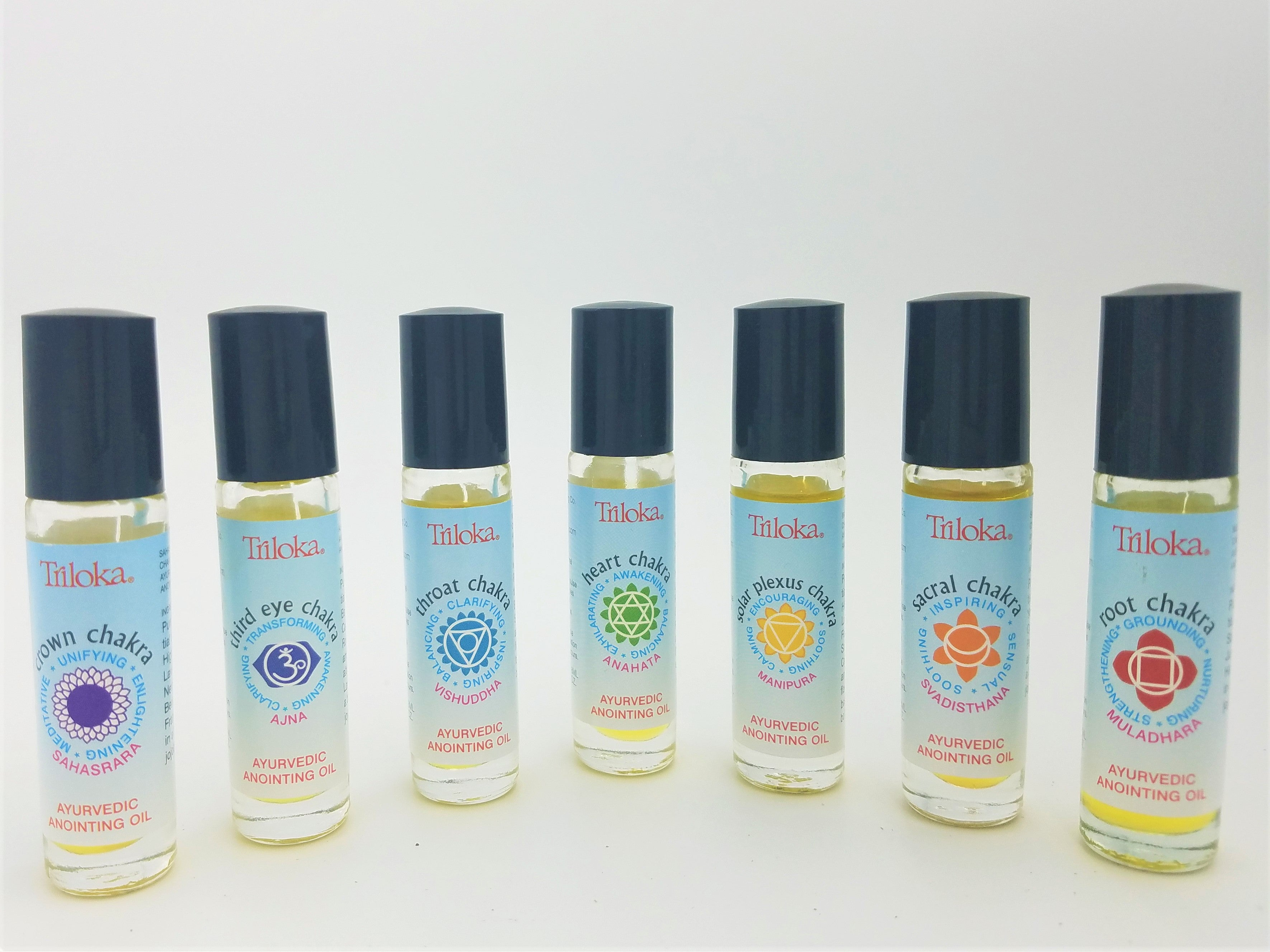 Essential Oil: Chakra Roll-On Anointing Oil