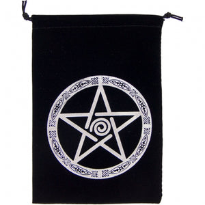 Open image in slideshow, Black Embroidered Velvet Bag