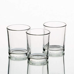 Open image in slideshow, Glass Votive Candle Holders