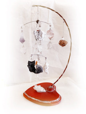 Open image in slideshow, Crystal Kinetic Sculpture