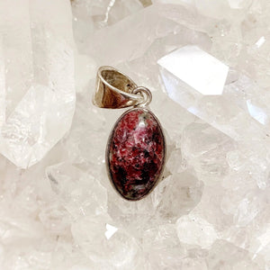 Open image in slideshow, Eudialyte Pendant