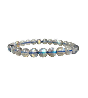 Open image in slideshow, Blue Labradorite Bead Bracelet