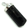 Polished Black Tourmaline Point Pendant