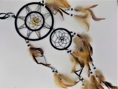 Dreamcatcher: Seashell Two-tiered