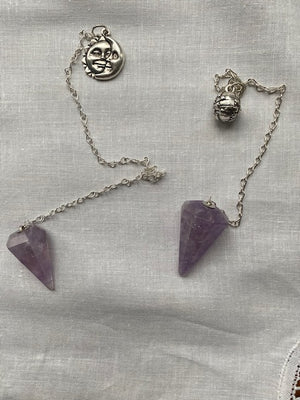 Open image in slideshow, Moon Charm Pendulums