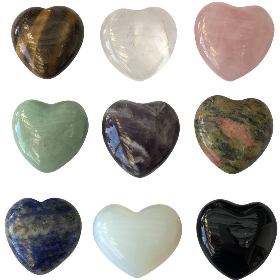 Heart Crystals (puffy)