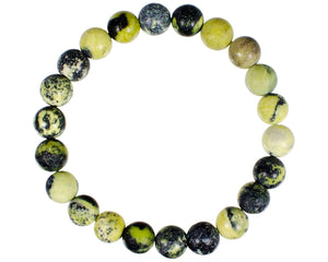 Open image in slideshow, Serpentine Bead Bead Bracelet