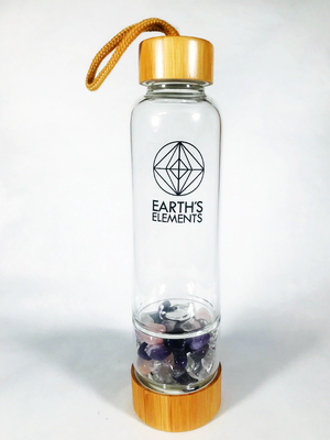 Open image in slideshow, Crystal Infused Water Bottles